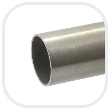 Tubo redondo de acero inoxidable